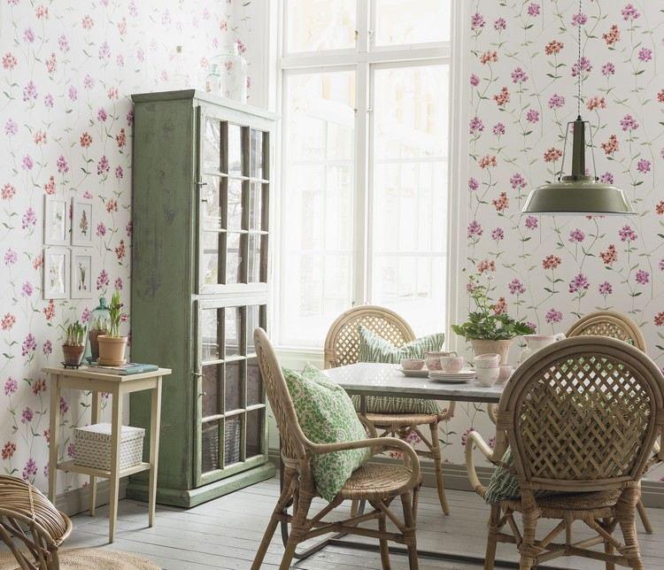 30 originali decorazioni per pareti di cucina in diversi - Decorazioni floreali per pareti ...
