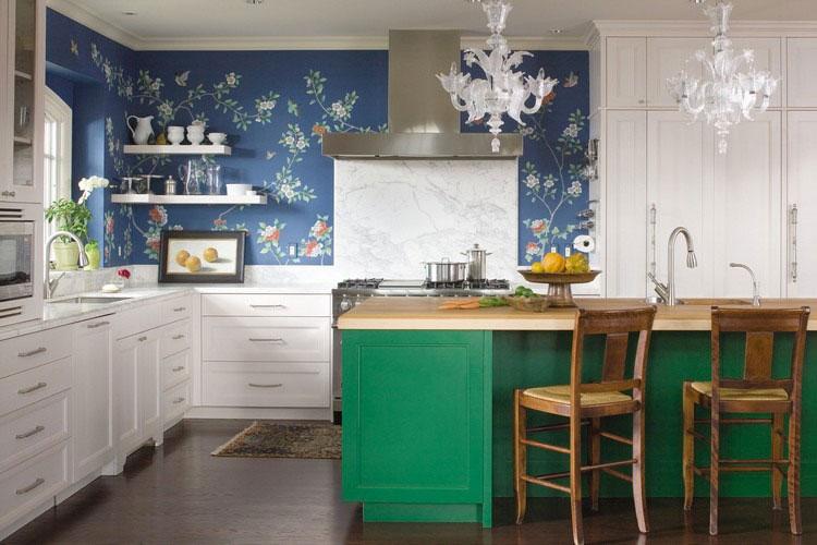 Idea per decorare le pareti della cucina n.11
