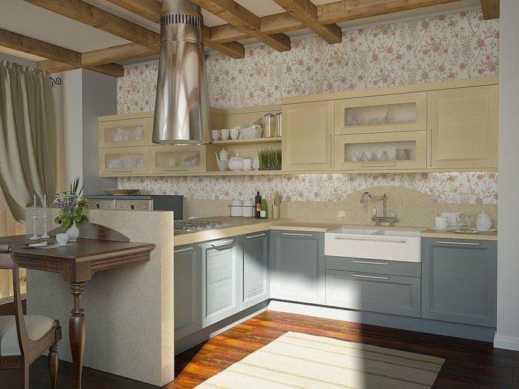 Idea per decorare le pareti della cucina n.12