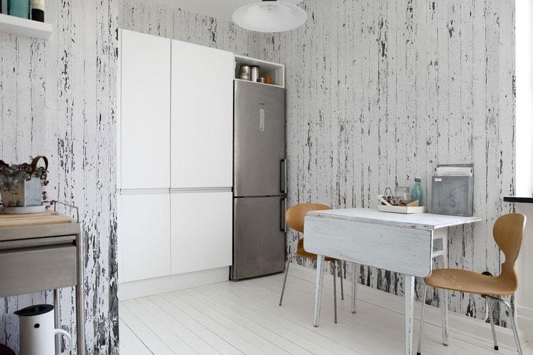 30 originali decorazioni per pareti di cucina in diversi for Parati da cucina