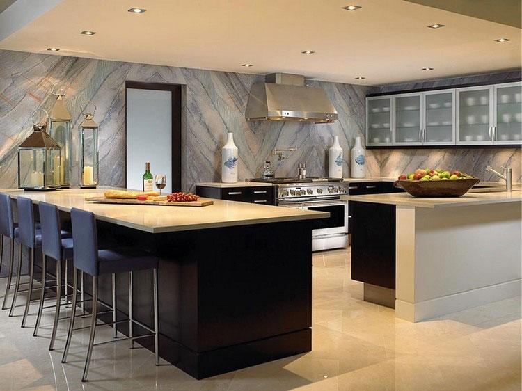 Idea per decorare le pareti della cucina n.14