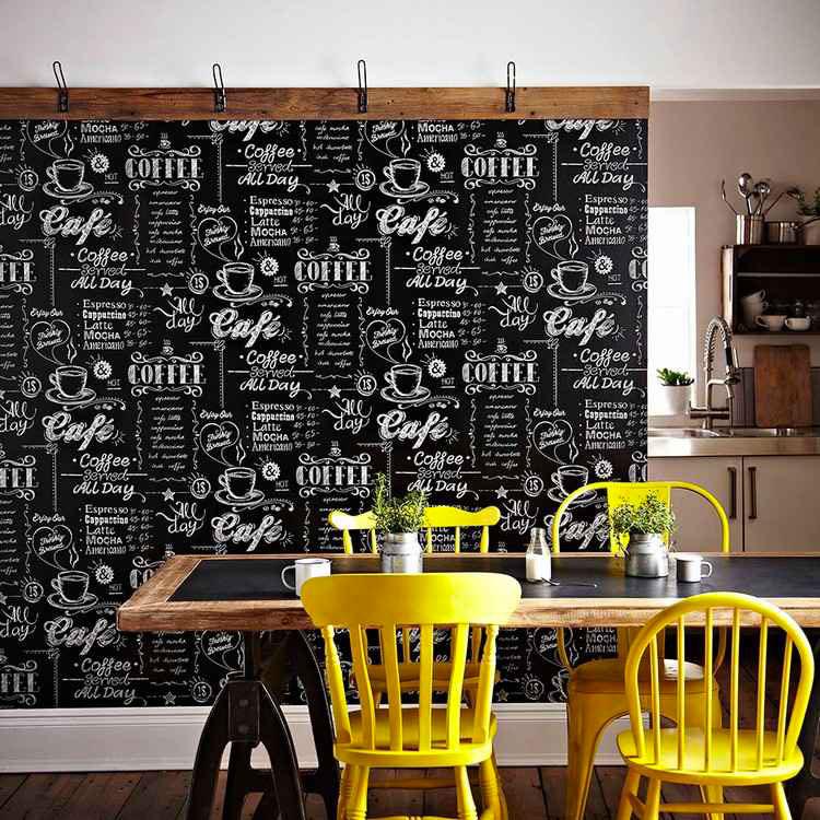 Idea per decorare le pareti della cucina n.15
