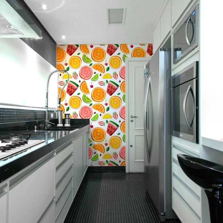 Idea per decorare le pareti della cucina n.16