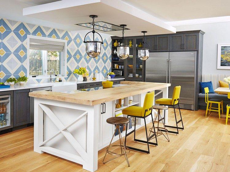 Idea per decorare le pareti della cucina n.17