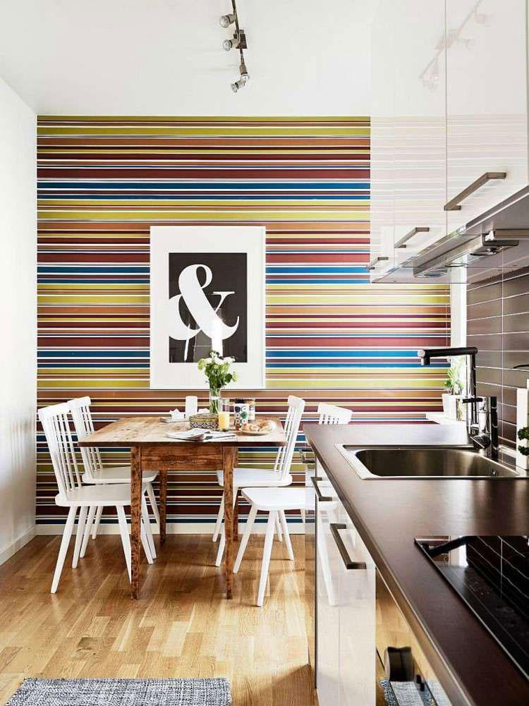 Idea per decorare le pareti della cucina n.19