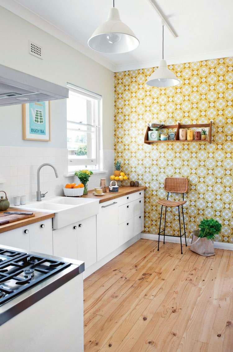Idea per decorare le pareti della cucina n.20