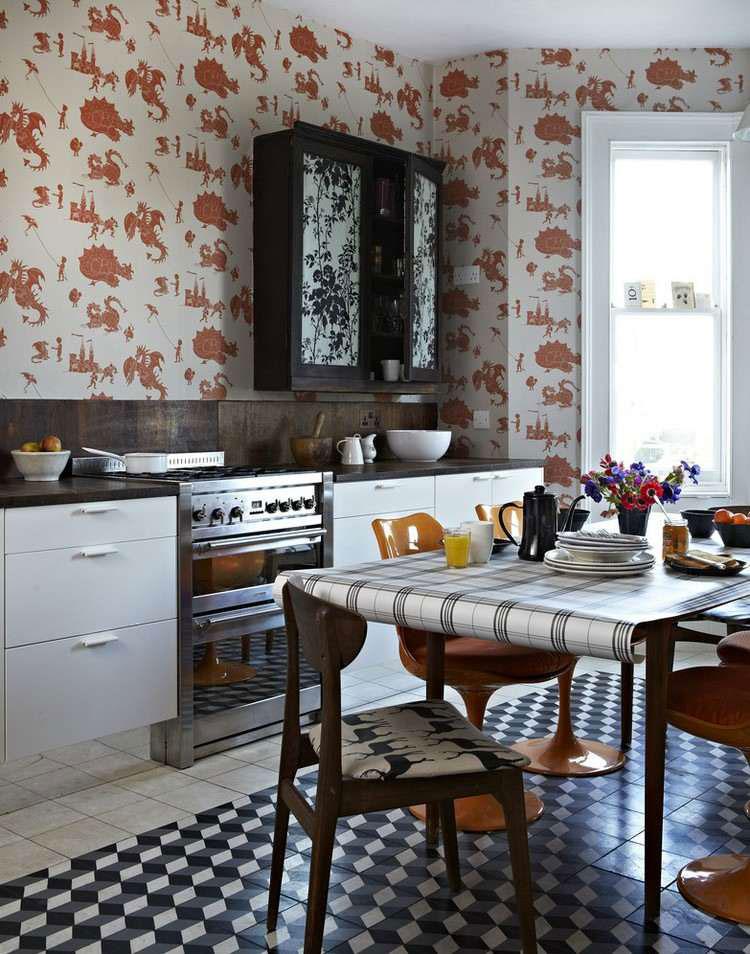 Idea per decorare le pareti della cucina n.21