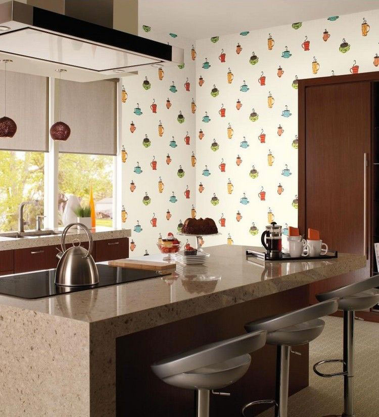 30 Originali Decorazioni per Pareti di Cucina in Diversi Stili ...