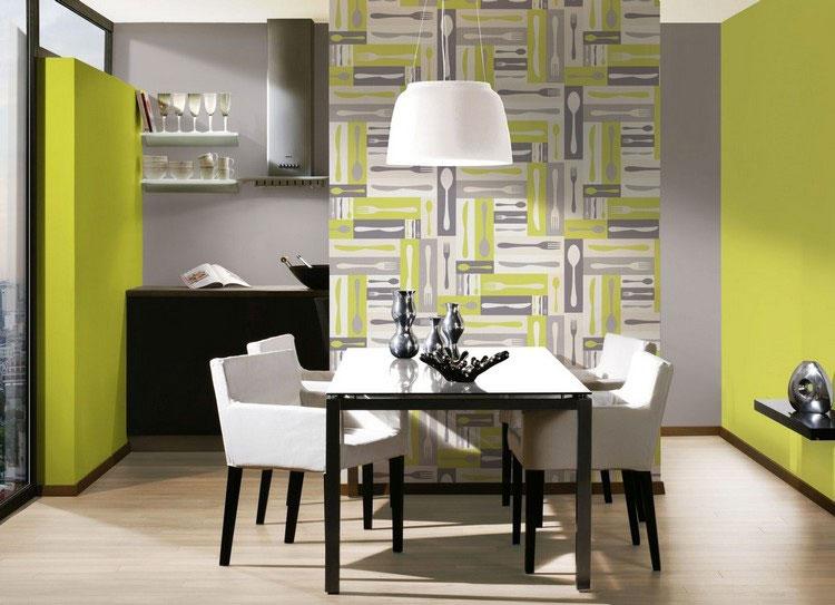 Idea per decorare le pareti della cucina n.23