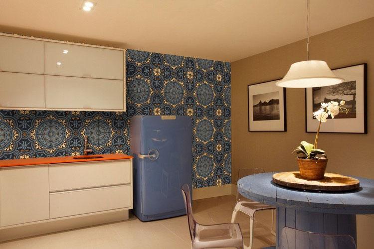 Idea per decorare le pareti della cucina n.26