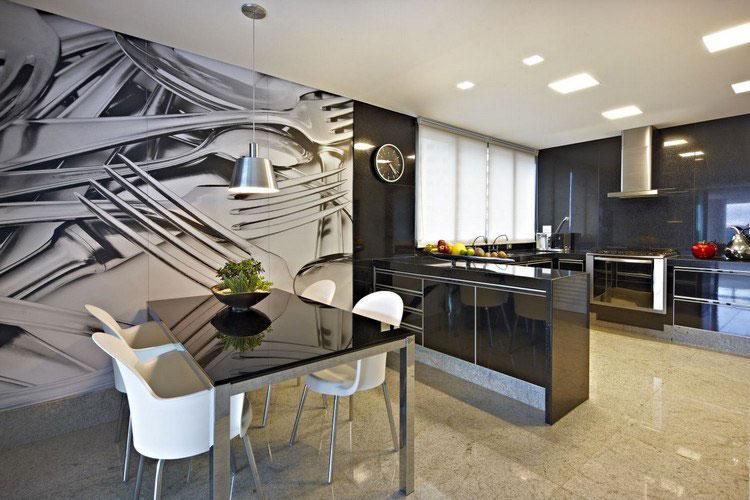 Idea per decorare le pareti della cucina n.27
