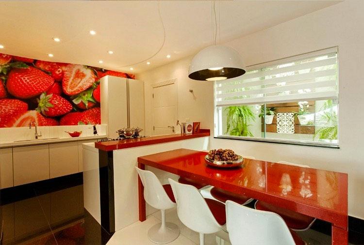 Idea per decorare le pareti della cucina n.28