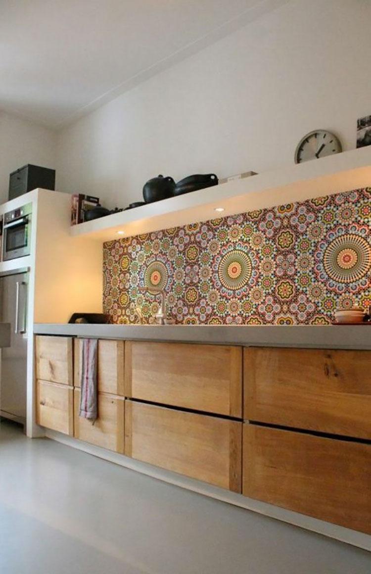 Idea per decorare le pareti della cucina n.29