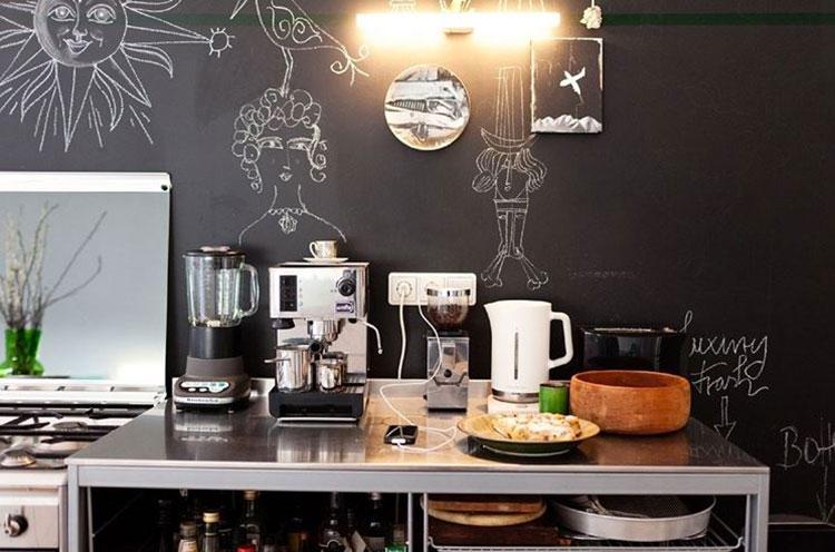 Idea per decorare le pareti della cucina n.30