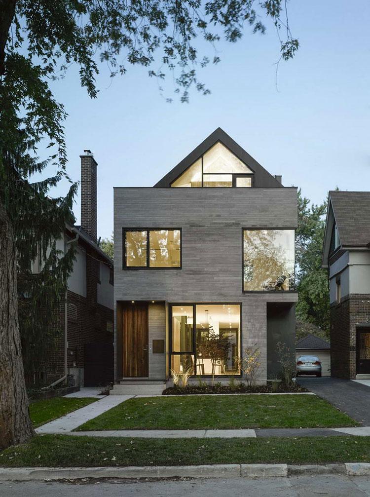 Progetto di finestre moderne per case da sogno n.01