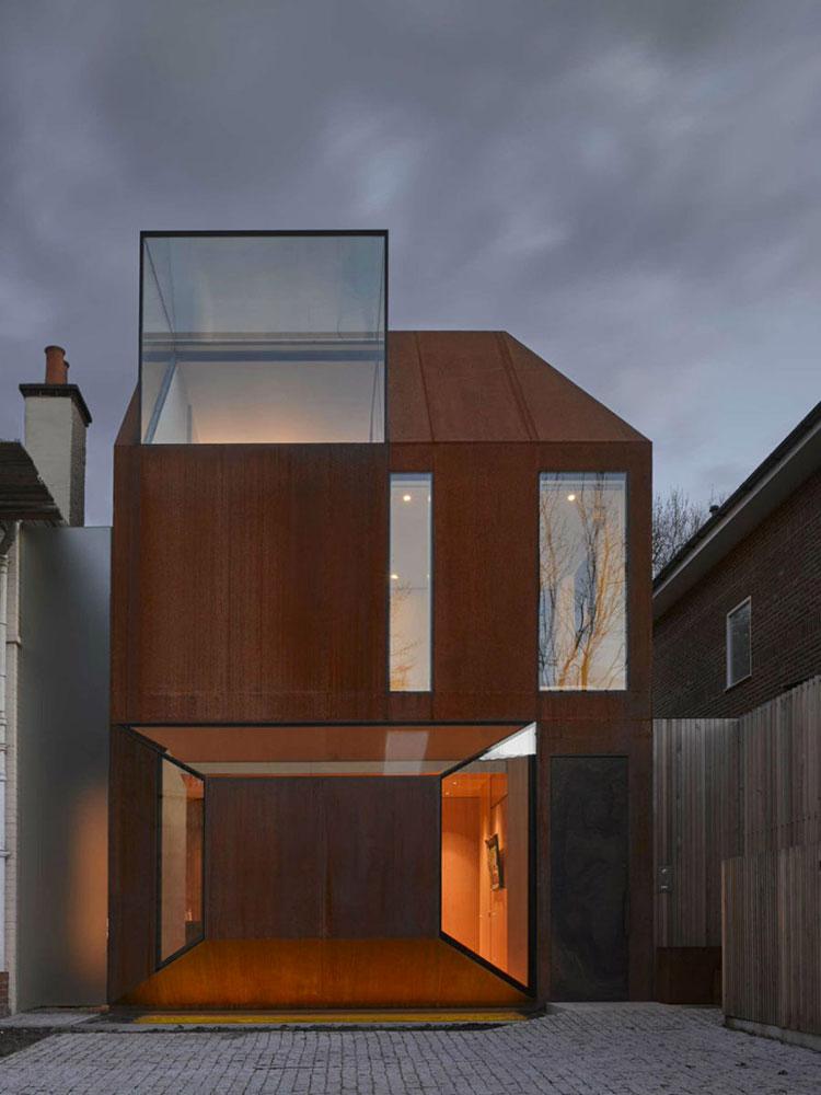 Progetto di finestre moderne per case da sogno n.02