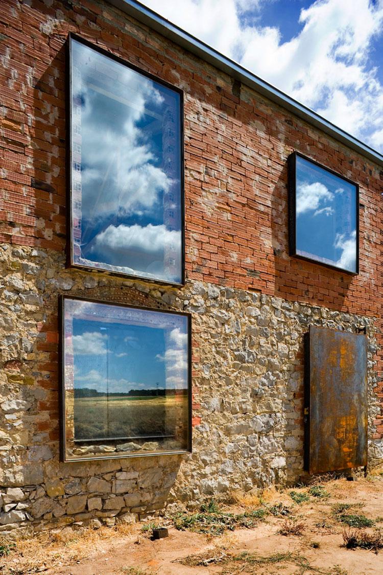 Progetto di finestre moderne per case da sogno n.04