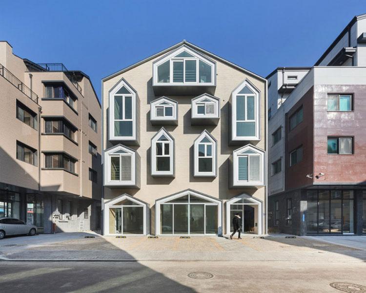Progetto di finestre moderne per case da sogno n.05