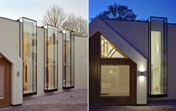 Progetto di finestre moderne per case da sogno n.07