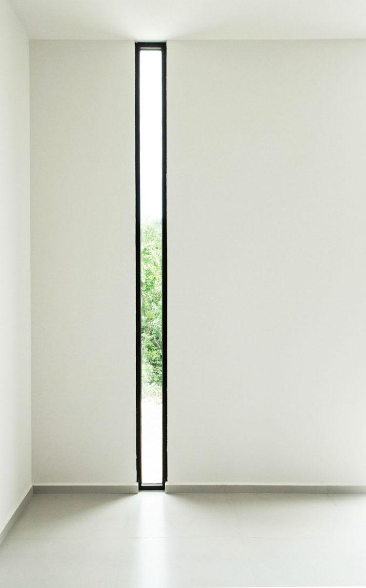 Progetto di finestre moderne per case da sogno n.10