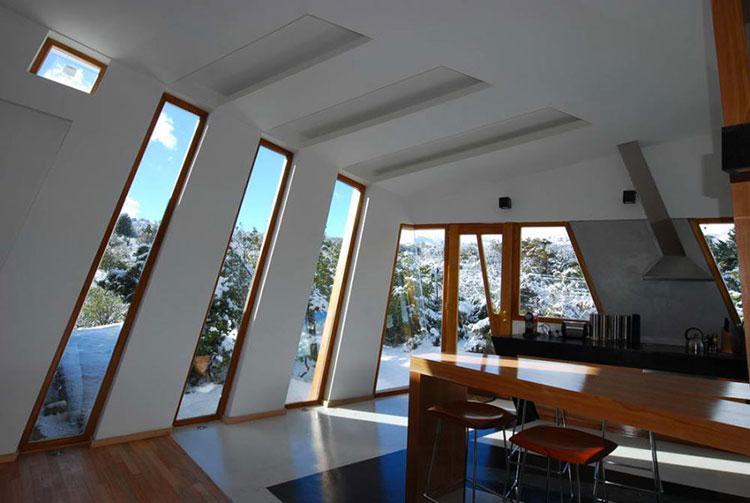 Progetto di finestre moderne per case da sogno n.12