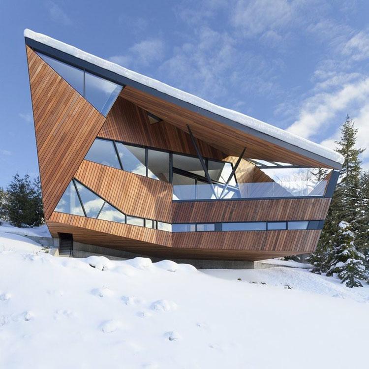 Progetto di finestre moderne per case da sogno n.14