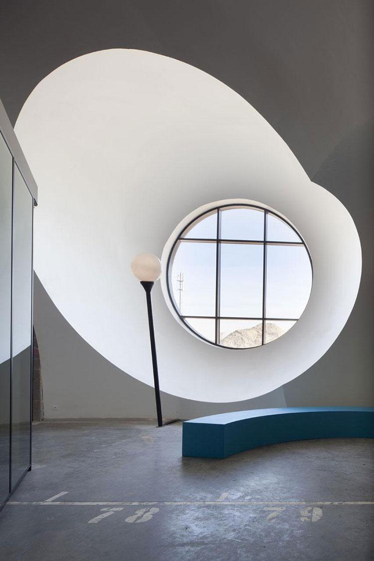 Progetto di finestre moderne per case da sogno n.16