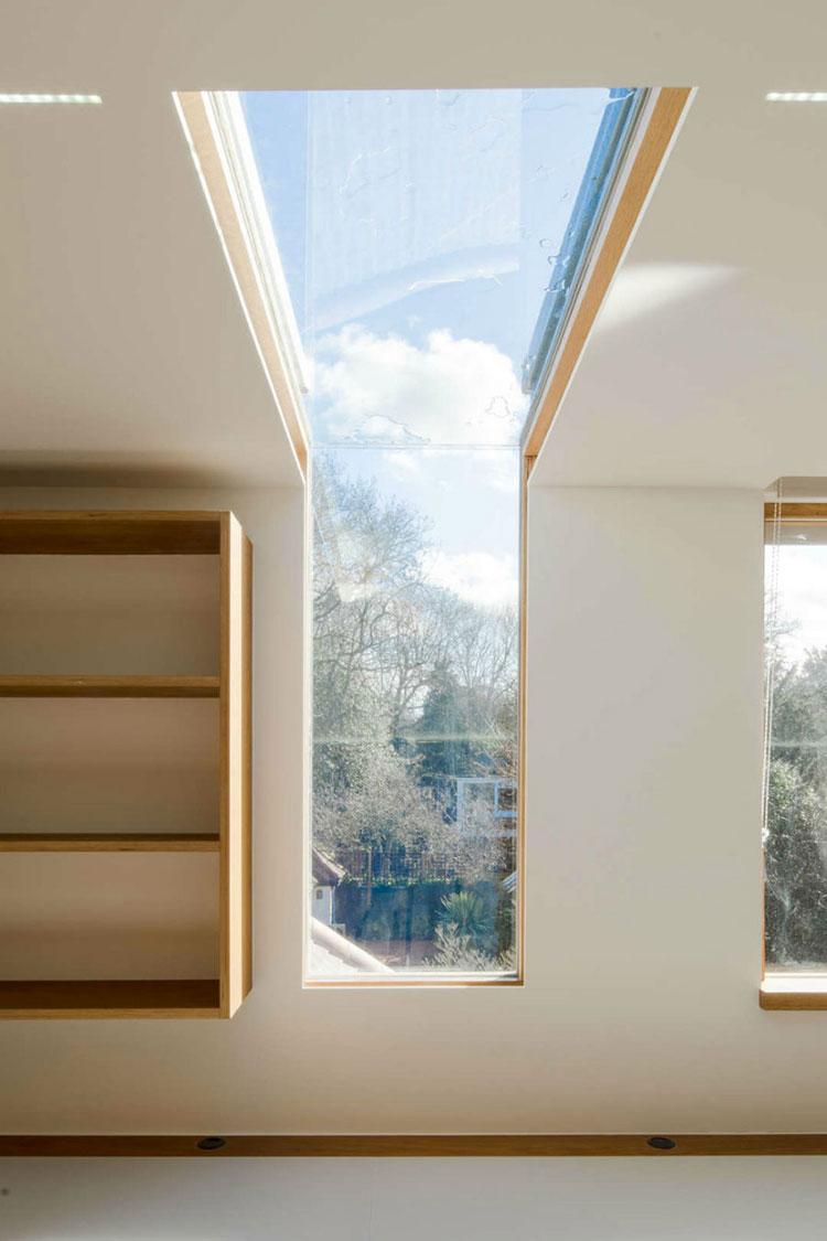 Progetto di finestre moderne per case da sogno n.17
