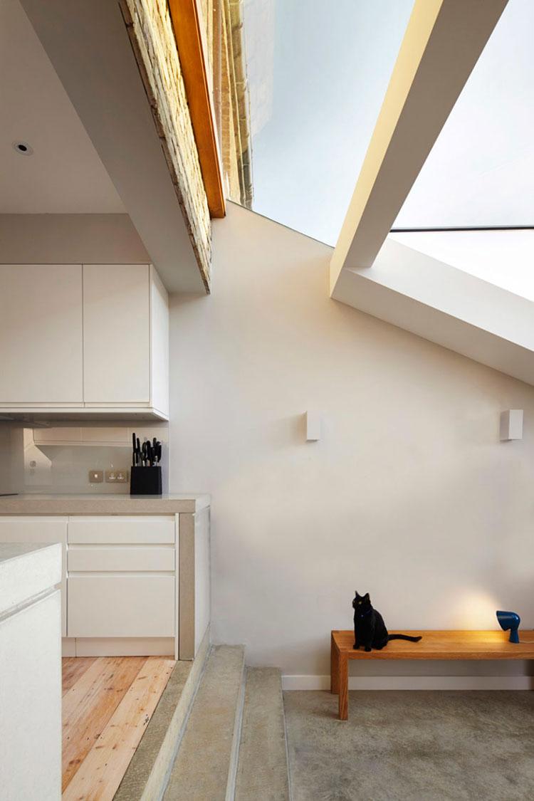 Progetto di finestre moderne per case da sogno n.19