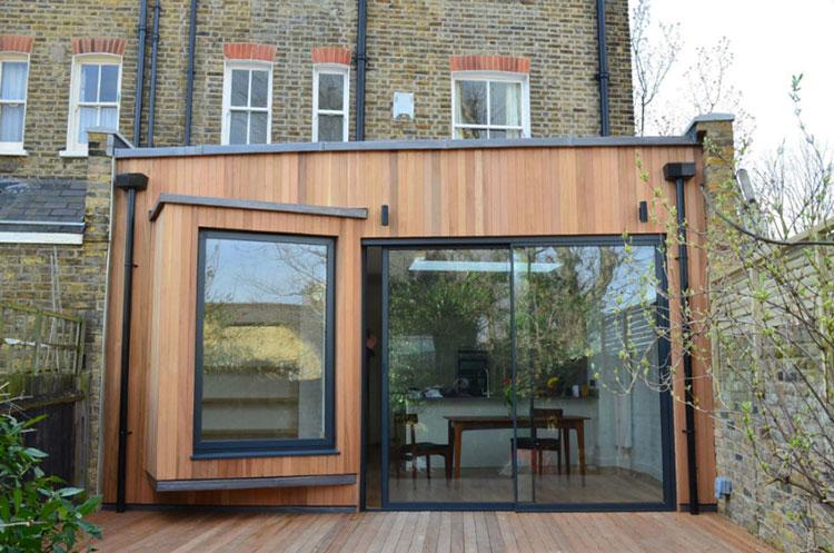 Progetto di finestre moderne per case da sogno n.20