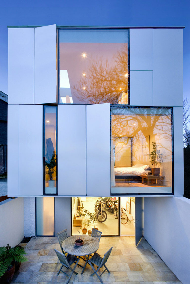 Progetto di finestre moderne per case da sogno n.21