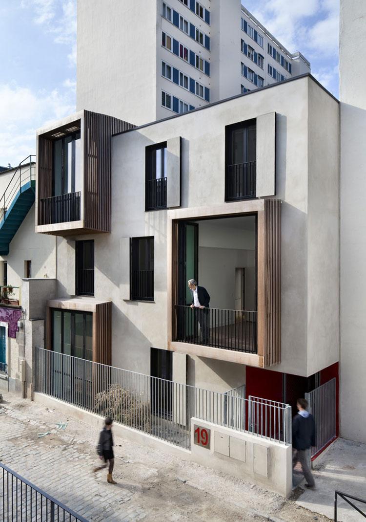 Progetto di finestre moderne per case da sogno n.22