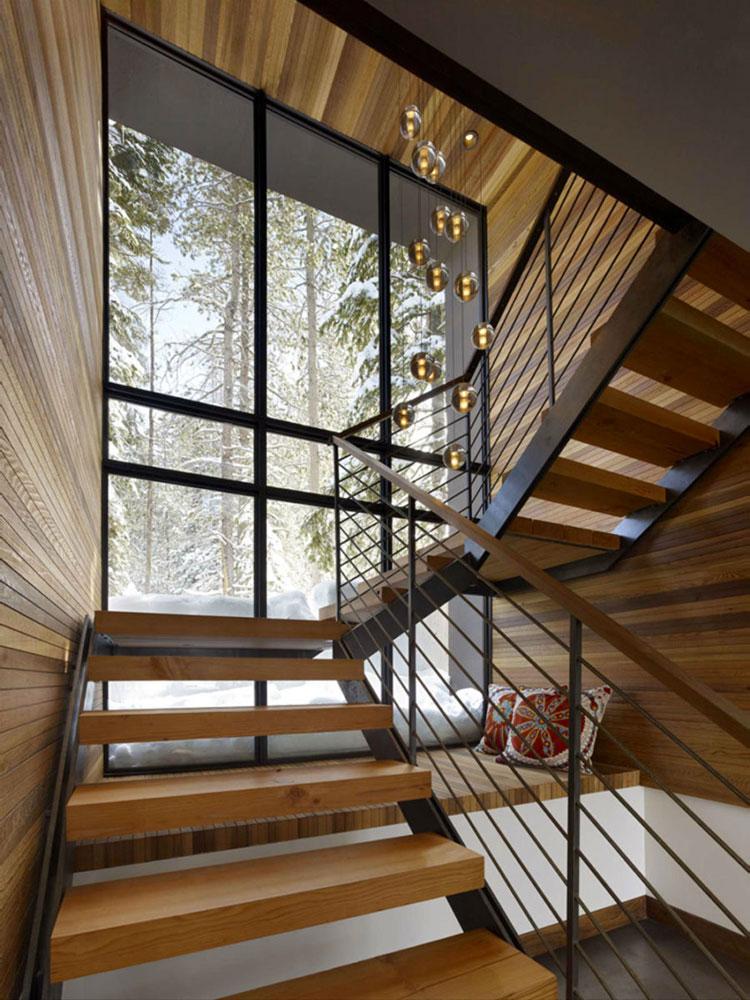 Progetto di finestre moderne per case da sogno n.23