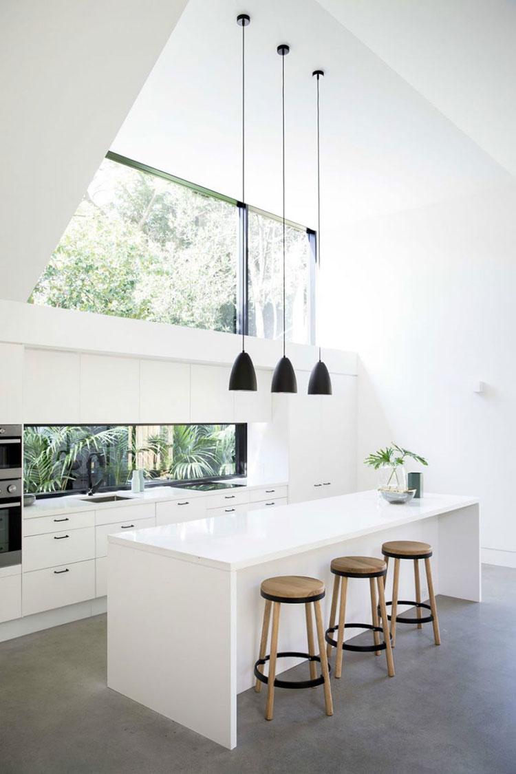 Progetto di finestre moderne per case da sogno n.24