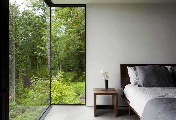Progetto di finestre moderne per case da sogno n.25
