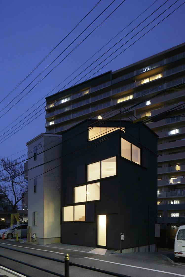 Progetto di finestre moderne per case da sogno n.27
