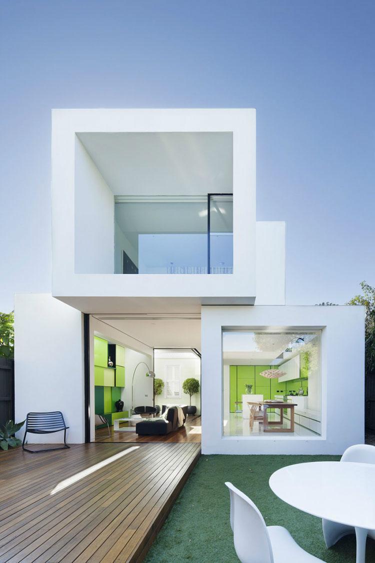 Progetto di finestre moderne per case da sogno n.28