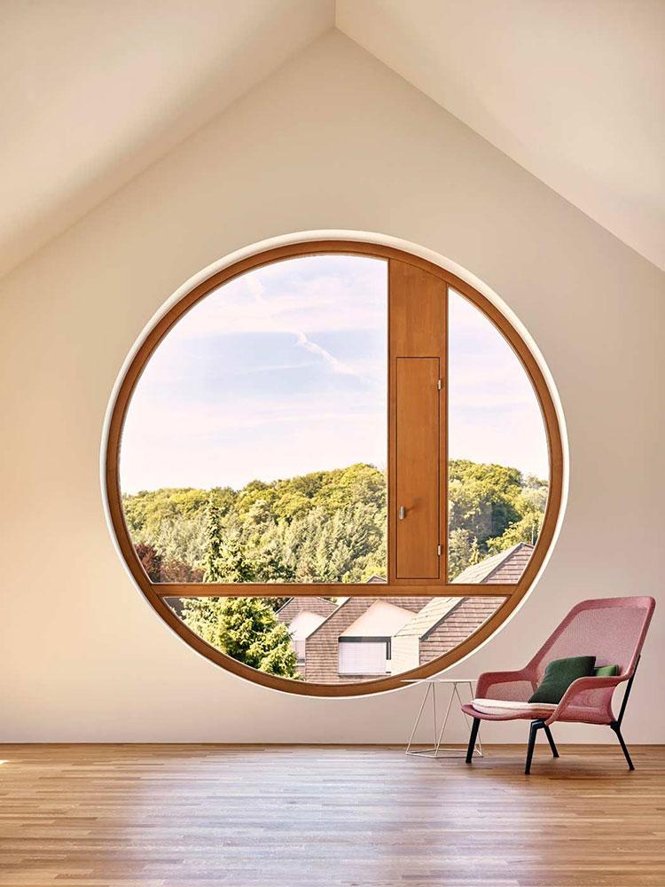 Modello di finestra rotonda n.01