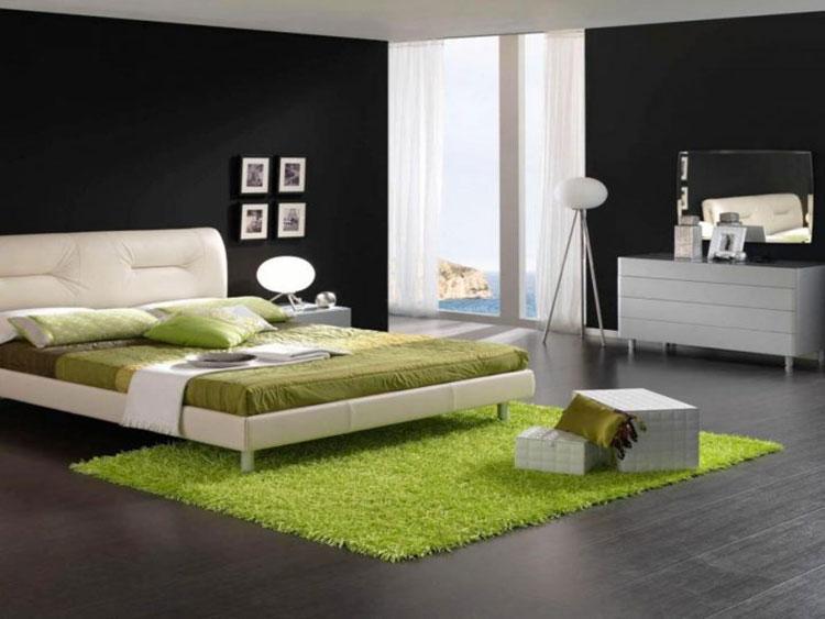 Arredamento per la camera da letto greenery n.01