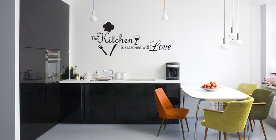 Come decorare le pareti della cucina