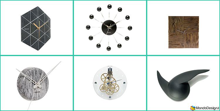 Orologi da parete dal design minimalista