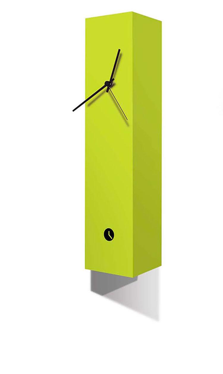 25 orologi da parete di design in stile moderno e minimal for Oggetti da parete design