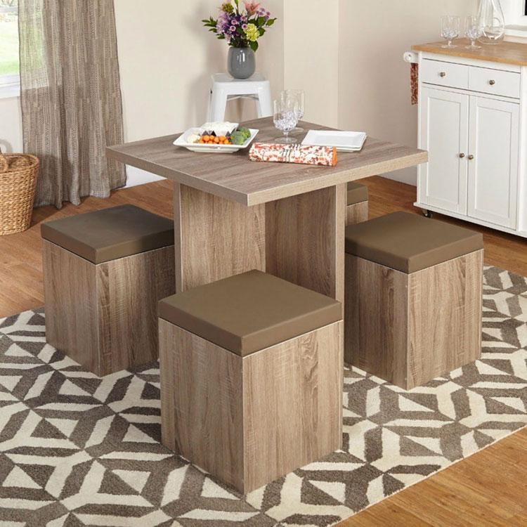 Idee di arredo per la scelta di panche e sedie per la sala da pranzo n.07