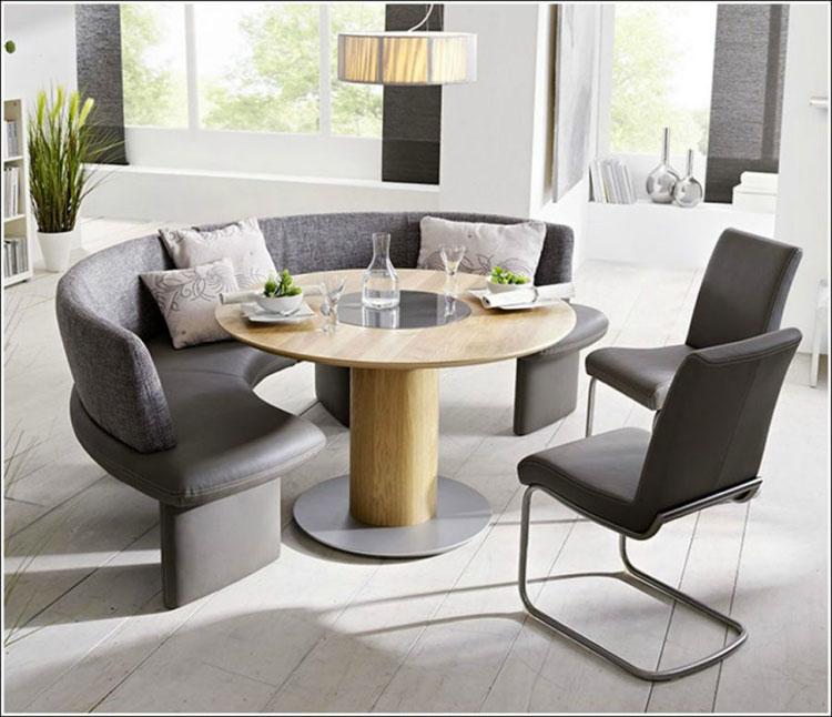 Idee di arredo per la scelta di panche e sedie per la sala da pranzo n.28