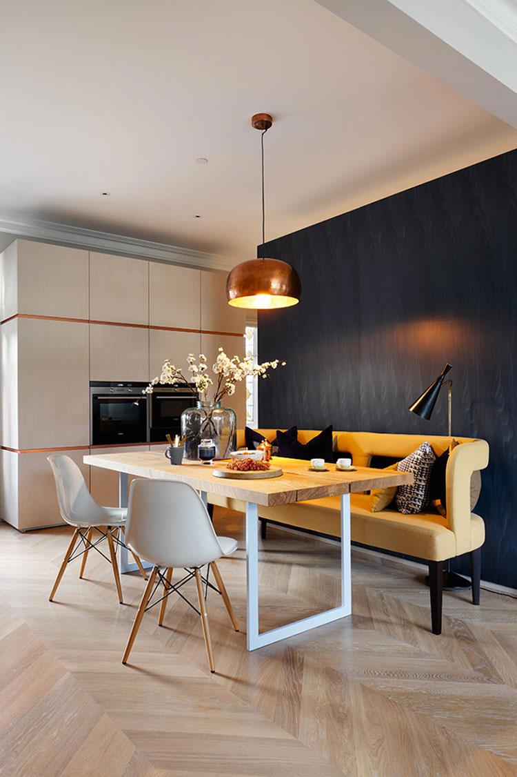 Panche e sedie di design per tavolo da pranzo 30 idee di arredo originali - Tavolo pranzo ikea ...