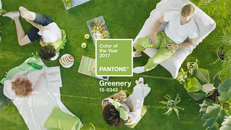 Il Colore Pantone 2017 è Greenery: Eccovi gli Arredi di Tendenza