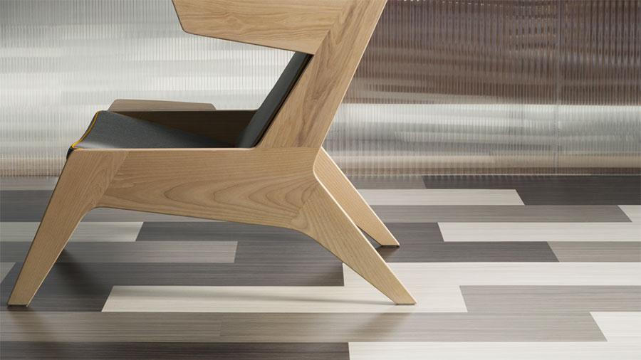 Modello di pavimento in linoleum di design n.02