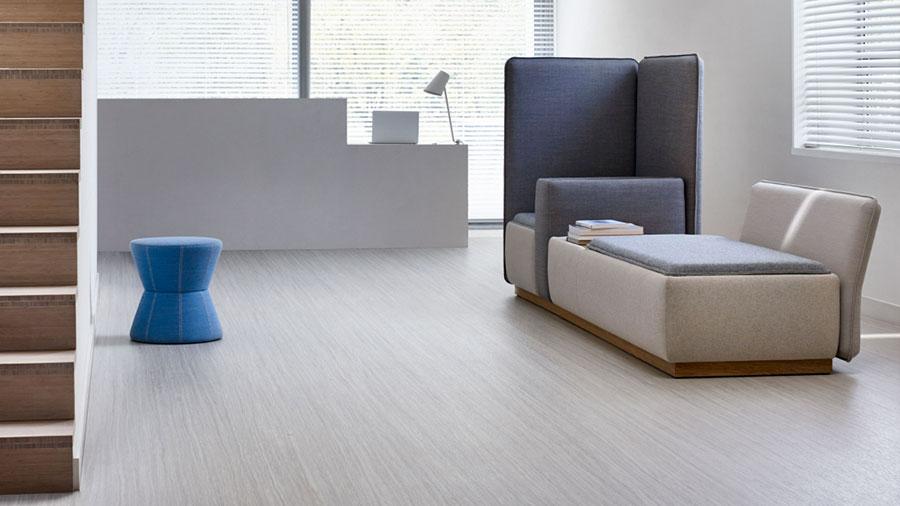 Modello di pavimento in linoleum di design n.06