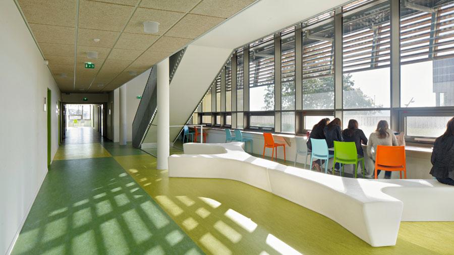 Modello di pavimento in linoleum di design n.07