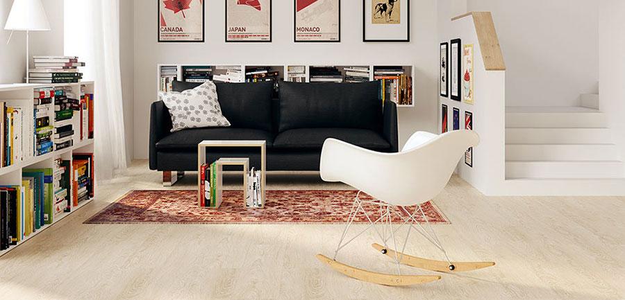 Modello di pavimento in linoleum di design n.14